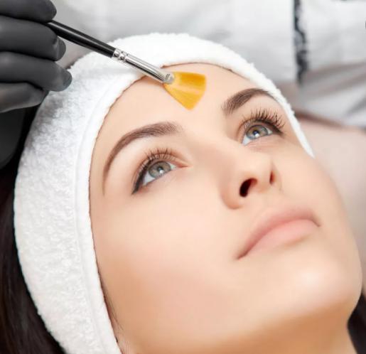 Peeling moyen du visage